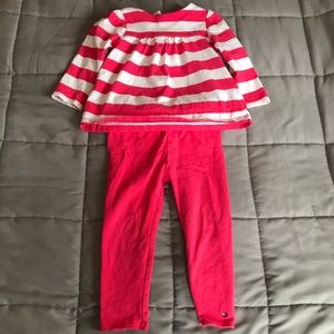 Tommy Hilfiger 2 piece 18 month girl outfit